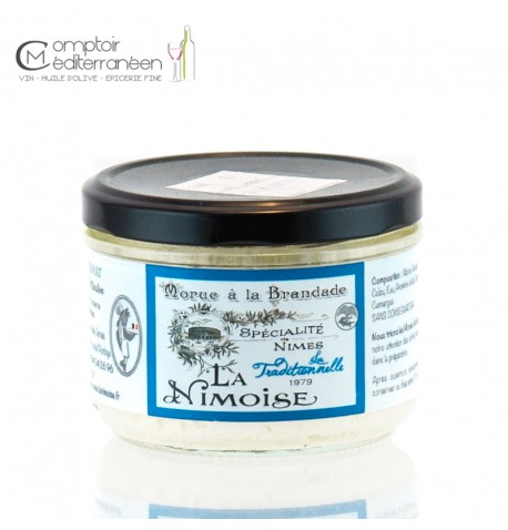 Brandade la Traditionnelle La Nimoise 32% 200 gr