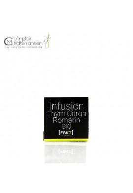 Infusion Thym Citron Romarin BIO - Boite BISTROT - FBKT
