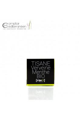 Infusion Verveine Menthe BIO - Boite Bistrot - FBKT