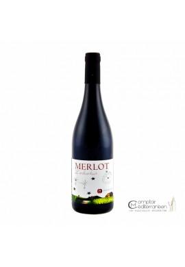 Mas du Chêne Merlot l'Enchanteur 2017 Vin de France 75cl
