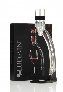 Aérateur de vin et socle ludi vin