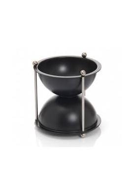 Crachoir oenosablier ABS Noir 1L
