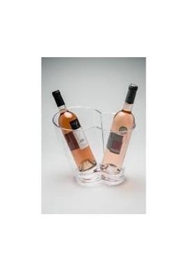 Seau a champagne vino duo pour 2 bouteilles
