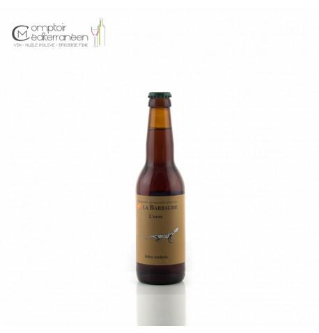 L Ocre Bière Ambrée bio La Barbaude 75cl