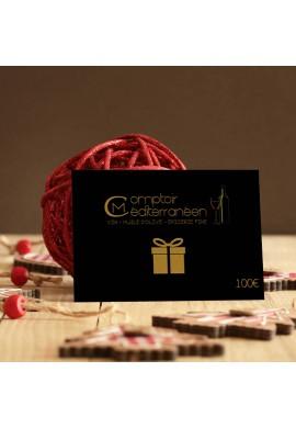 Carte Cadeau Comptoir Méditerranéen 100 euros
