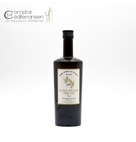 Huile d'Olive vierge extra Picholine 75cl De Fuentes