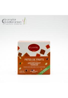 Clavel Pates de fruits Terroir Flowpack 160g