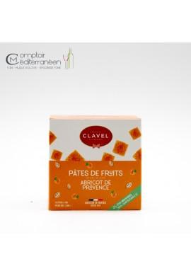 Clavel Pates de fruits abricot de provence 160g