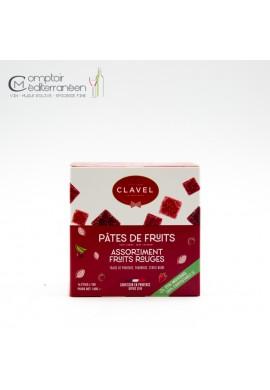 Clavel Pates de Fruits Rouges Flowpack 160g
