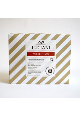 Boite de 50 capsules Authentique Luciani