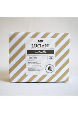 Boite de 50 capsules Ristretto Luciani