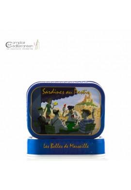 Sardines au Pastis et à l'huile d'olive extra