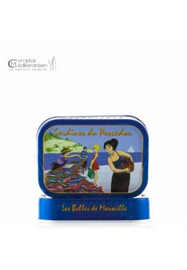 Sardines du Pescadou (pêcheur) à l'huile d'olive vierge extra