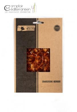 Sachet de Chorizo Iberique bellota tranché 80g